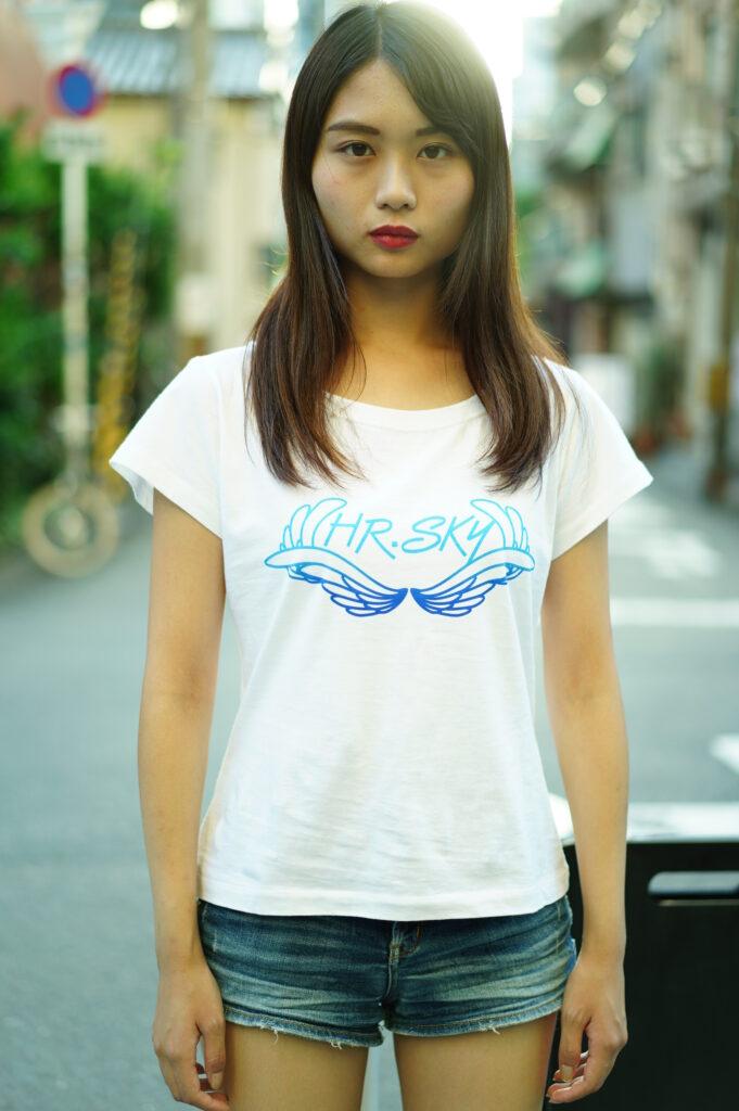 HRSKY オリジナルロゴTシャツ